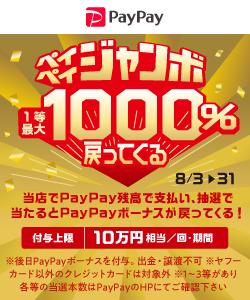 PayPayジャンボバナー
